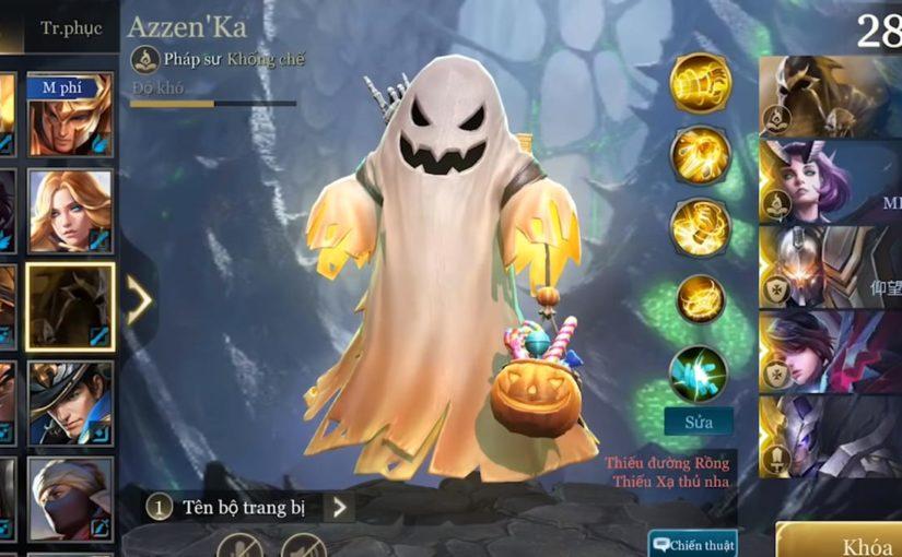Trang phục Azzen'Ka Halloween cho kẹo hay đi ghẹo