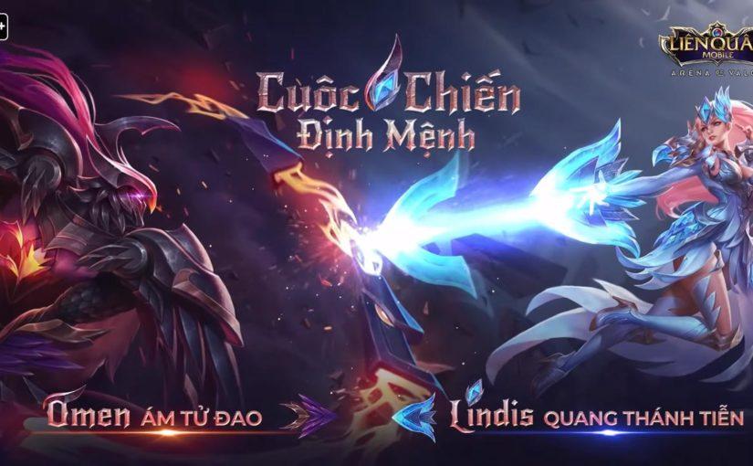 Omen Ám Tử Đao vs Lindis Quang Thánh Tiễn khi Bóng tối và Ánh sáng gặp nhau