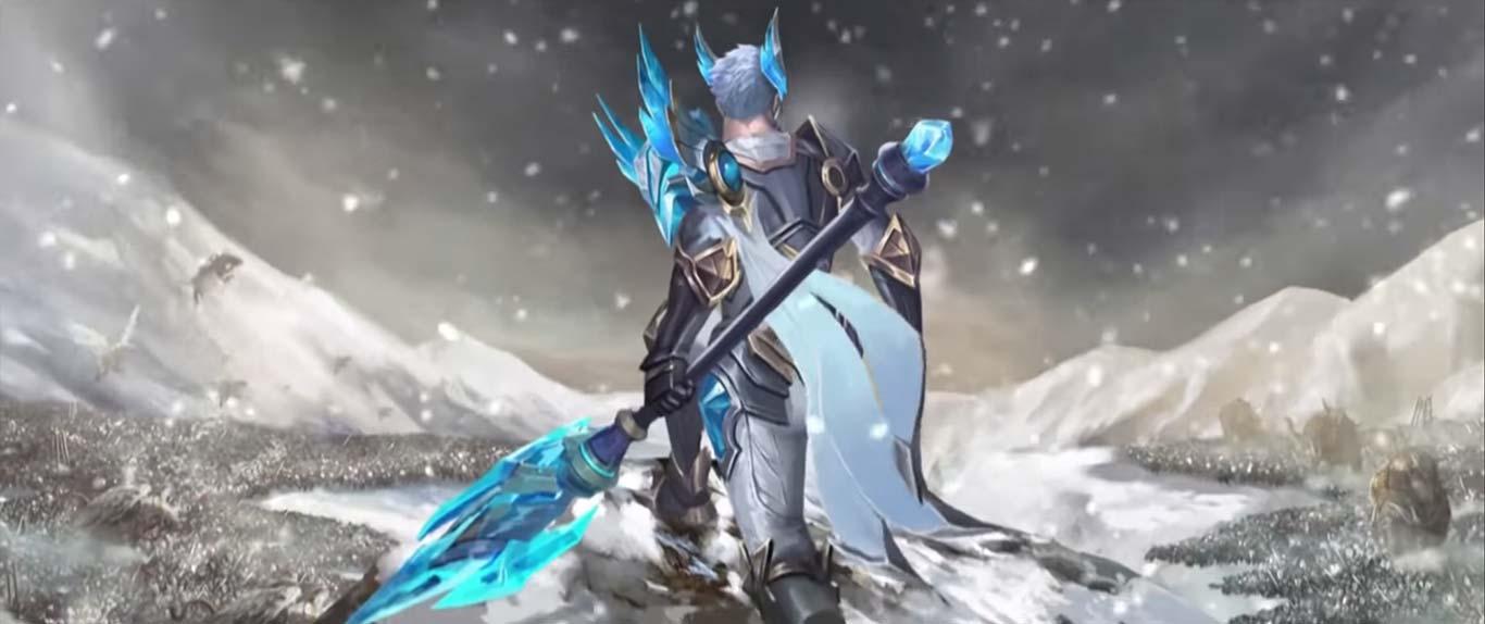 Triệu Vân Chiến tướng mùa đông trang phục khá ngầu hiệu ứng tuyệt vời