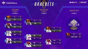 Kết quả Bán kết và Lịch thi đấu Chung Kết AIC 2018, Team Flash hãy dọn nốt trận cuối