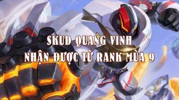 Trang phục Skud Quang Vinh, skin thưởng hạng rank mùa 9 Liên Quân