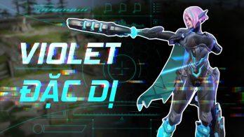 Giới thiệu Violet Đặc Dị trang phục siêu công nghệ, siêu máy móc