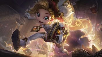 Arcanist Zoe Prestige Wallpaper LOL