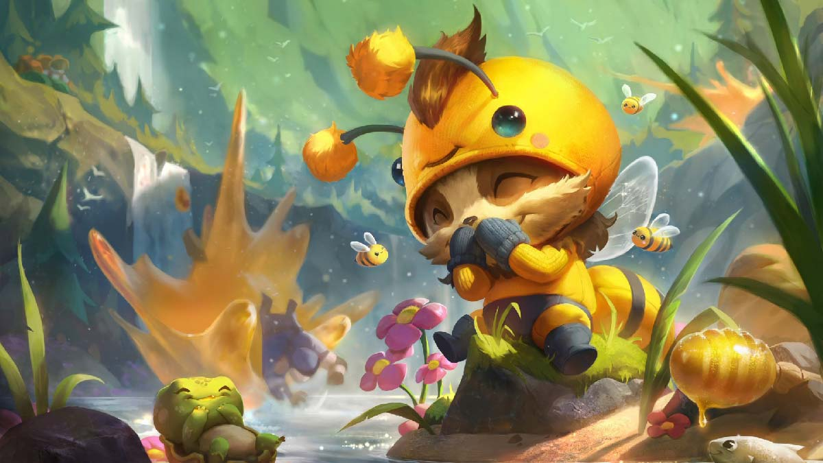 Beemo Teemo Wallpaper LOL