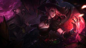 Bewitching Morgana Wallpaper LOL