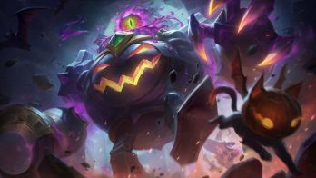 Witch's Brew Blitzcrank Wallpaper LOL