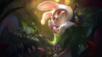 Cottontail Teemo Wallpaper LOL