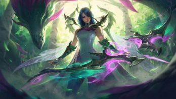 Fae Dragon Ashe Wallpaper LOL