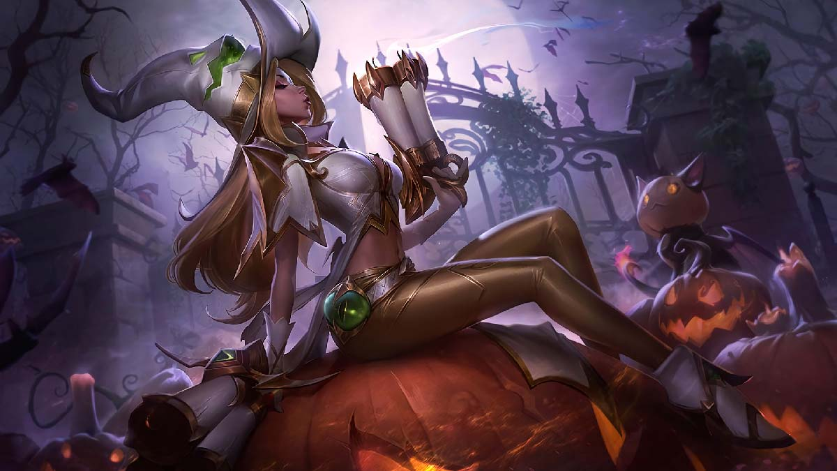 Bewitching Miss Fortune Prestige Wallpaper LOL
