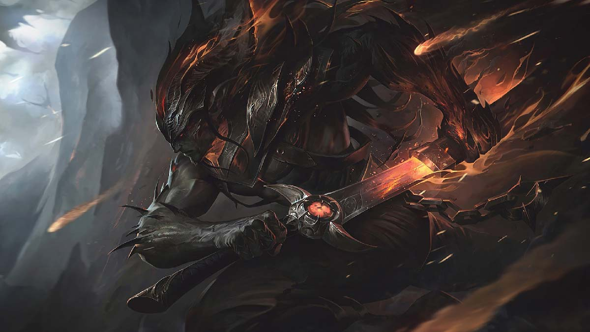 Nightbringer Yasuo Wallpaper LOL