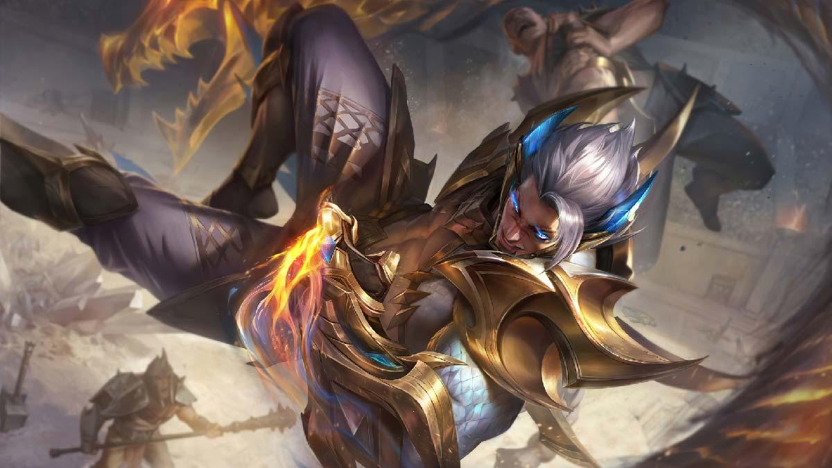Obsidian Dragon Sett Prestige Wallpaper LOL