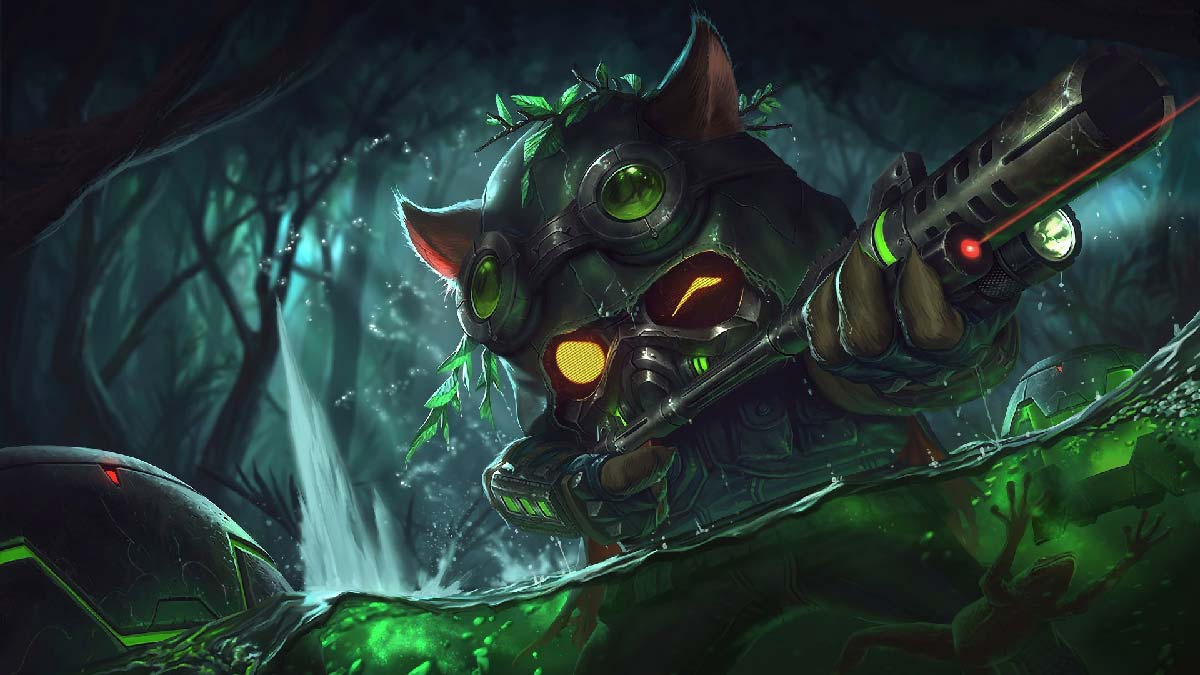Omega Squad Teemo Wallpaper LOL