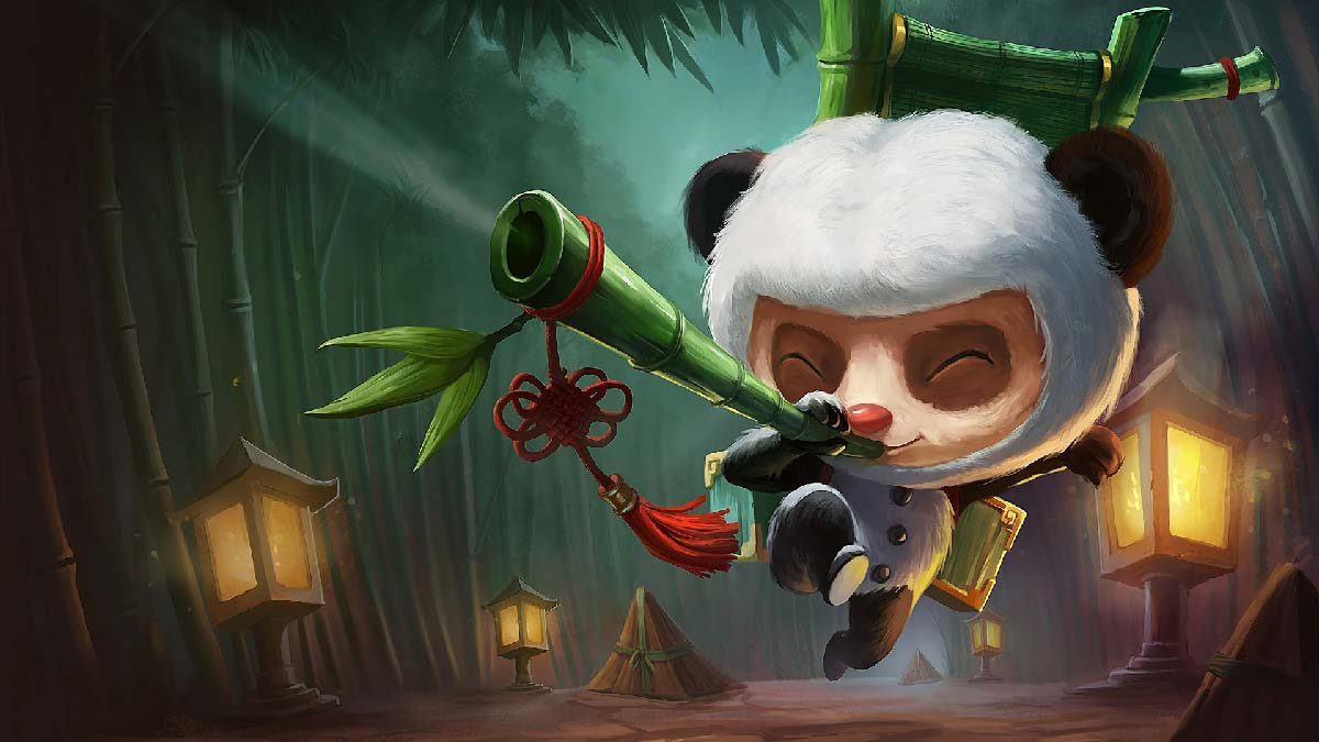 Panda Teemo Wallpaper LOL