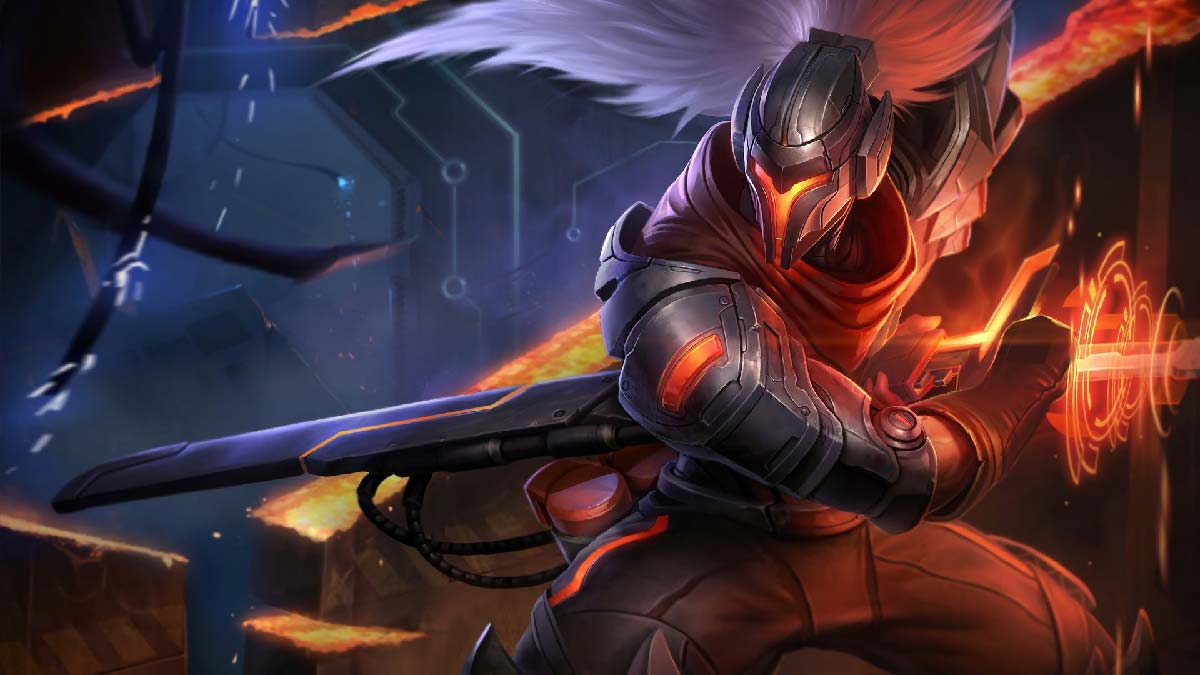 Project Yasuo Wallpaper LOL