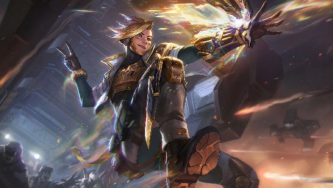 PsyOps Ezreal Prestige Wallpaper LOL