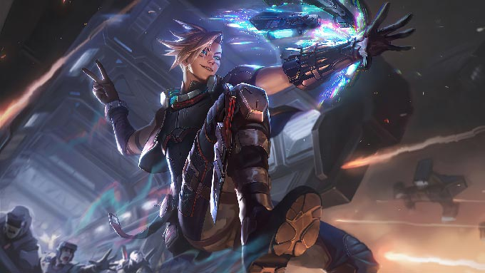 PsyOps Ezreal Wallpaper LOL