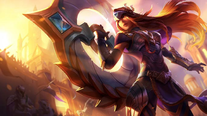 Victorious Sivir Wallpaper LOL