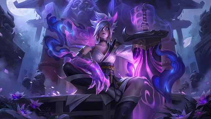 Spirit Blossom Riven Wallpaper LOL