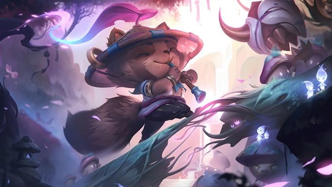 Spirit Blossom Teemo Wallpaper LOL