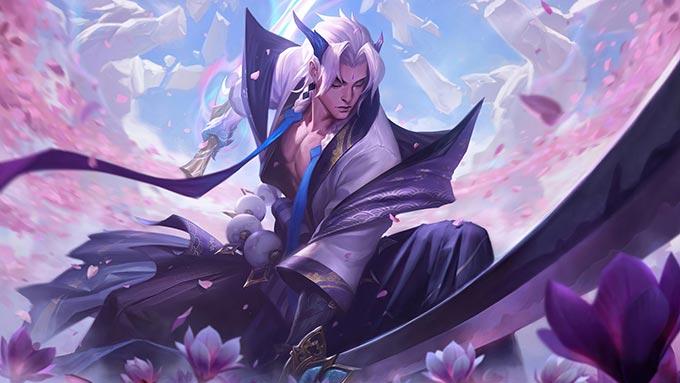 Spirit Blossom Yone Wallpaper LOL