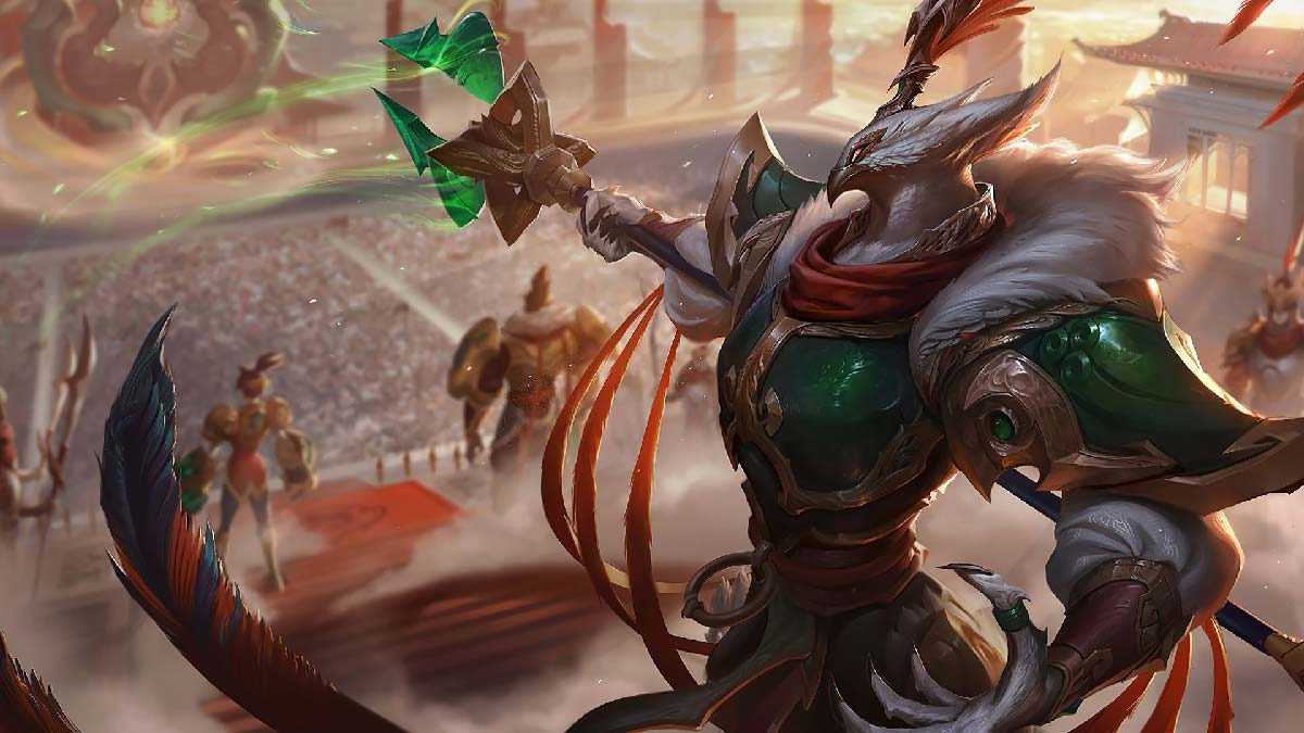Warring Kingdoms Azir Wallpaper