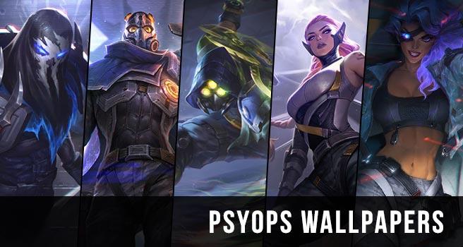 Psyops Skins Wallpaper