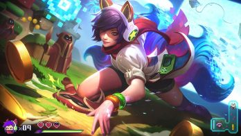 Arcade Ahri Wallpaper LOL