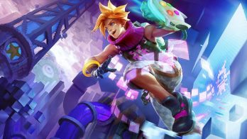 Arcade Ezreal Wallpaper LOL