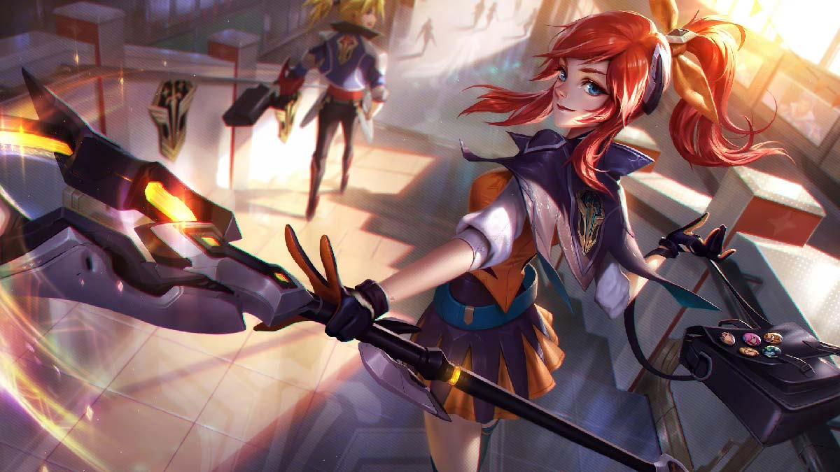 Battle Academia Lux Wallpaper LOL