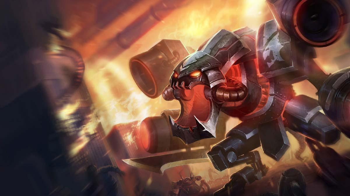 Battlecast Cho'Gath Wallpaper LOL