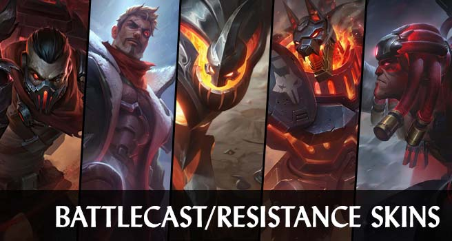 Battlecast/Resistance Skins Wallpaper LOL