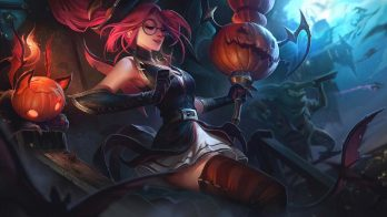 Bewitching Janna Wallpaper LOL