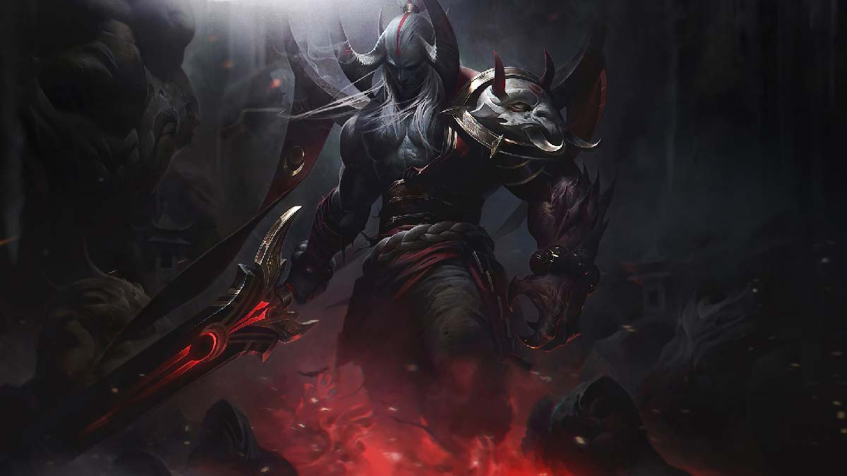 Blood Moon Aatrox Wallpaper LOL