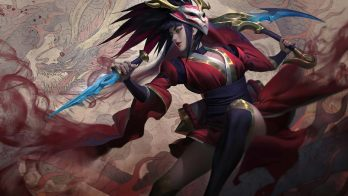 Blood Moon Akali Wallpaper LOL