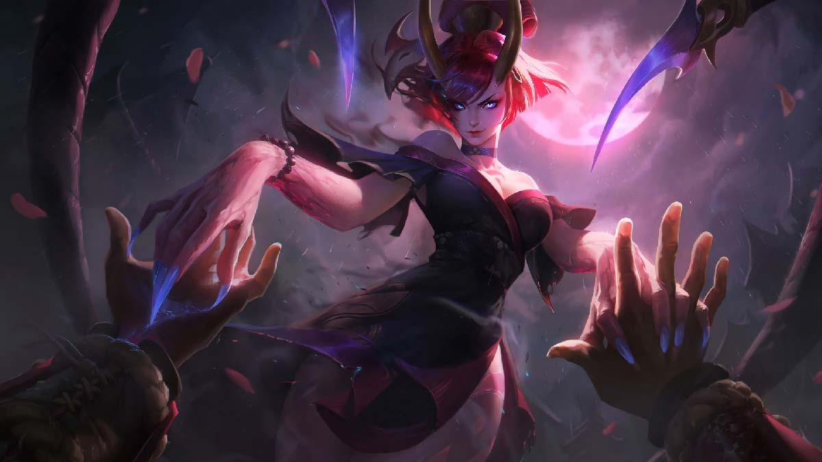 Blood Moon Evelynn Wallpaper LOL