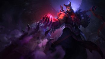 Blood Moon Shen Wallpaper LOL