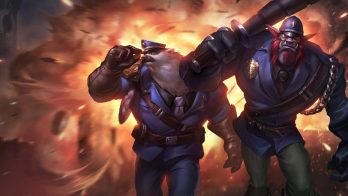 Captain Volibear and Constable Trundle Wallpaper LOL