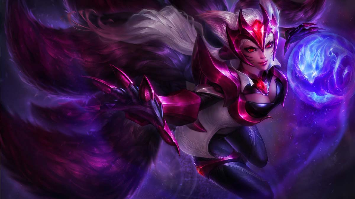 Challenger Ahri Wallpaper LOL