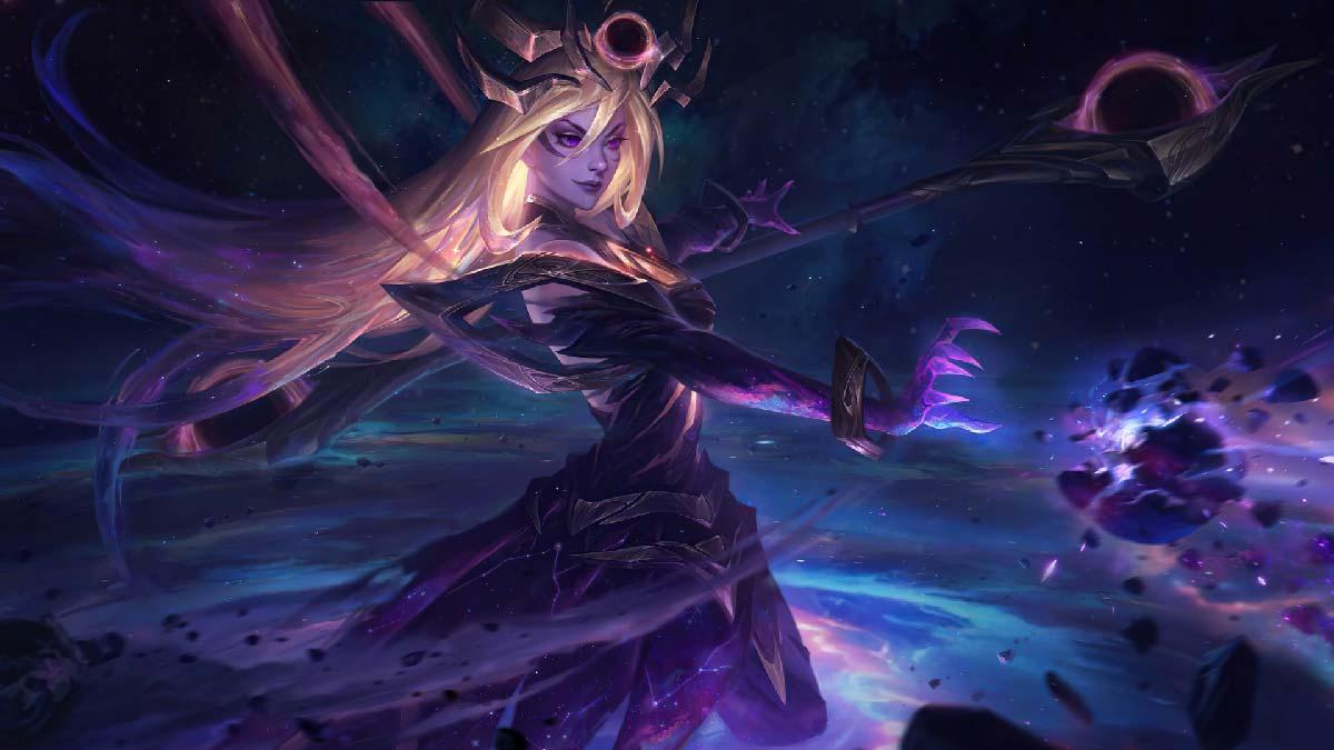 Dark Cosmic Lux Wallpaper LOL
