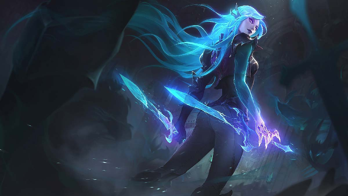 Death Sworn Katarina Wallpaper LOL