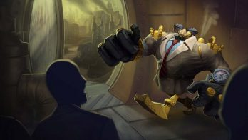 Definitely Not Blitzcrank Wallpaper LOL