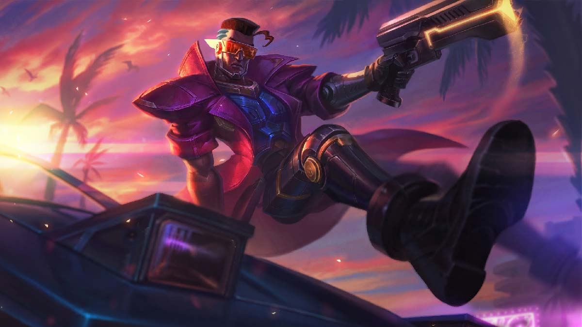 Demacia Vice Lucian Wallpaper LOL
