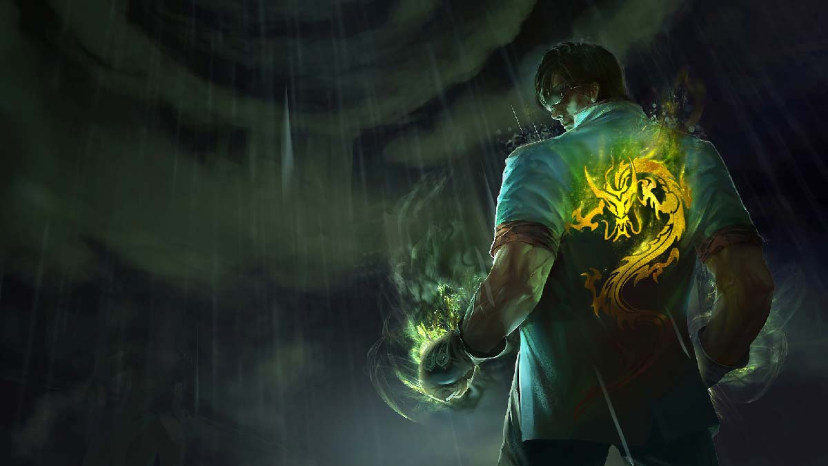 Dragon Fist Lee Sin Wallpaper LOL
