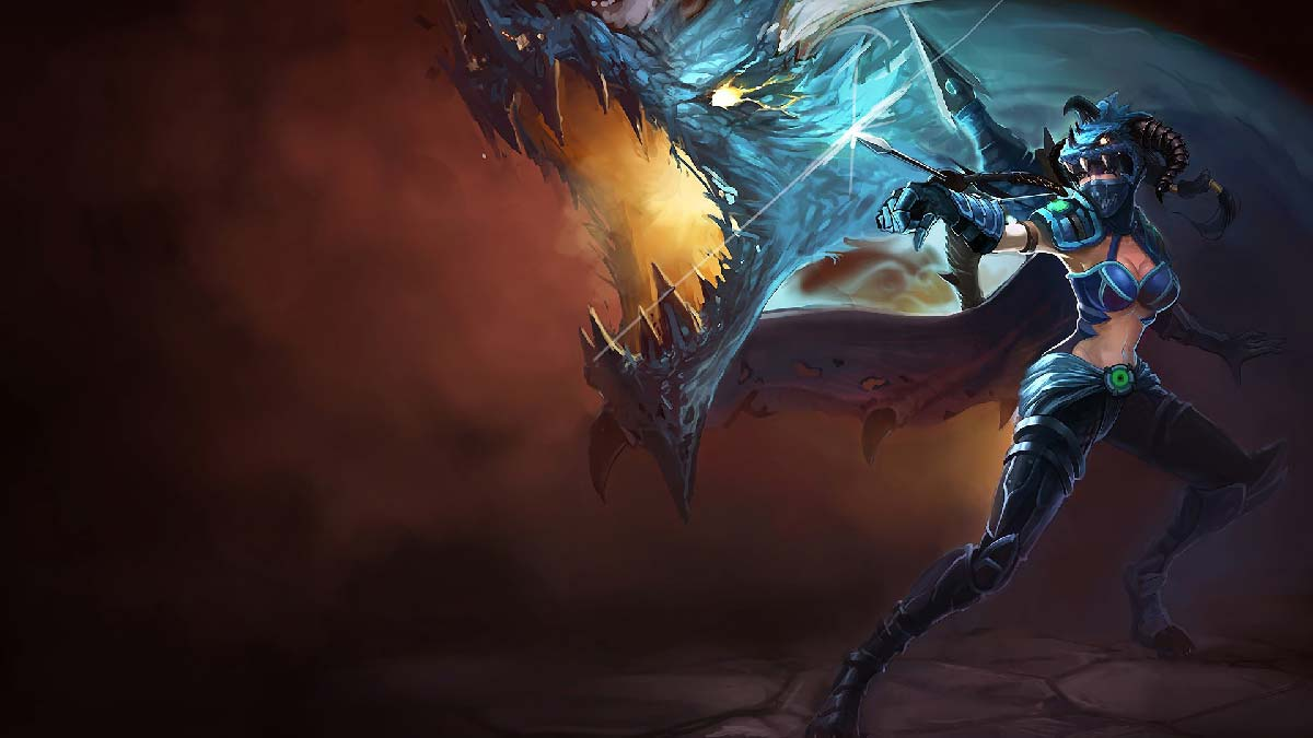 Dragonslayer Vayne Wallpaper LOL