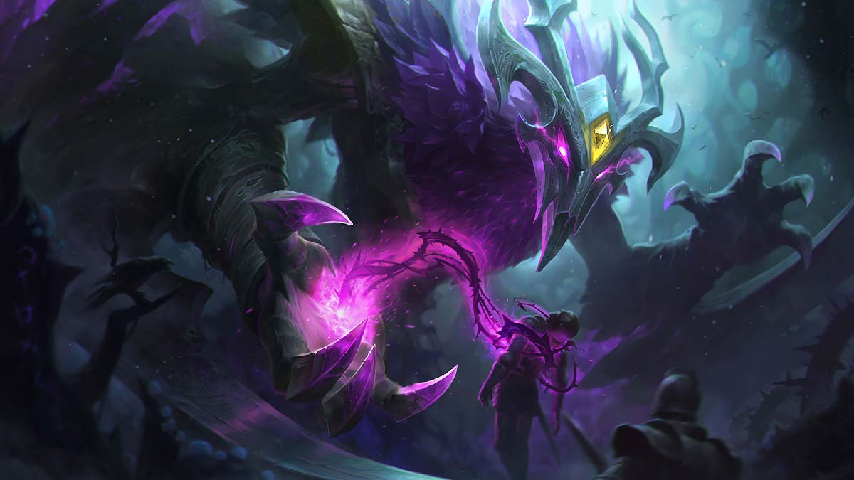 Elderwood Nocturne Wallpaper LOL