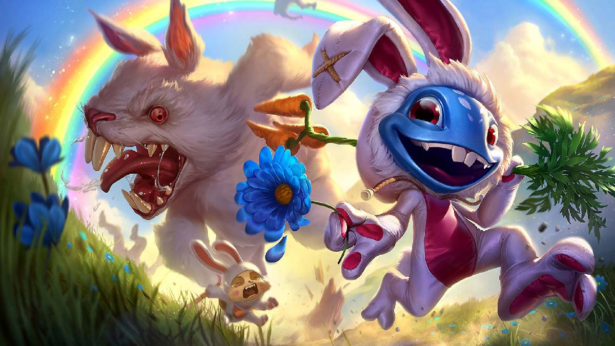 Cottontail Fizz Wallpaper LOL