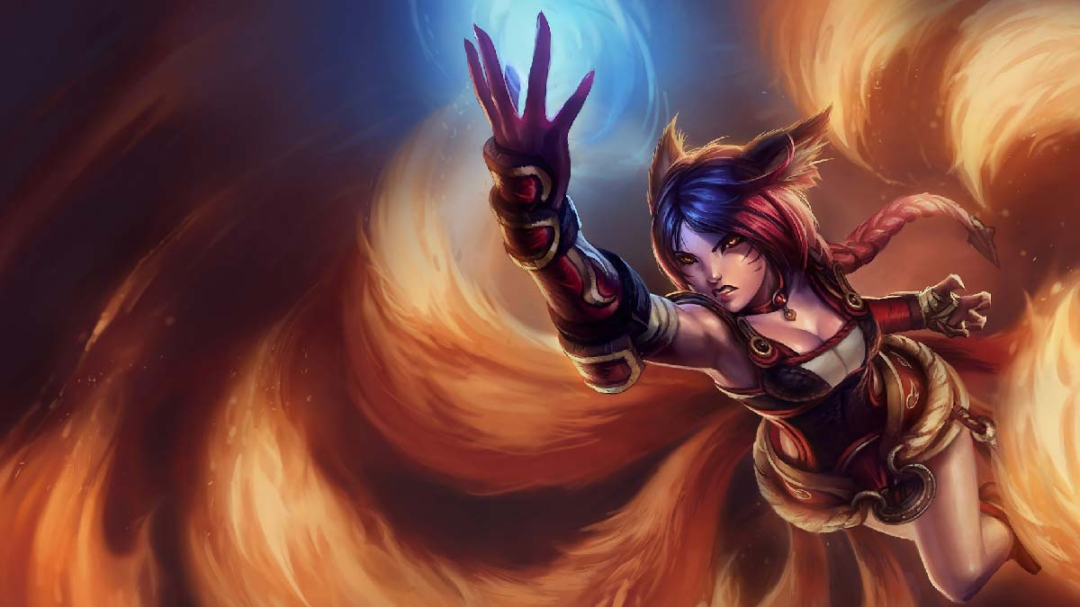 Foxfire Ahri Wallpaper LOL