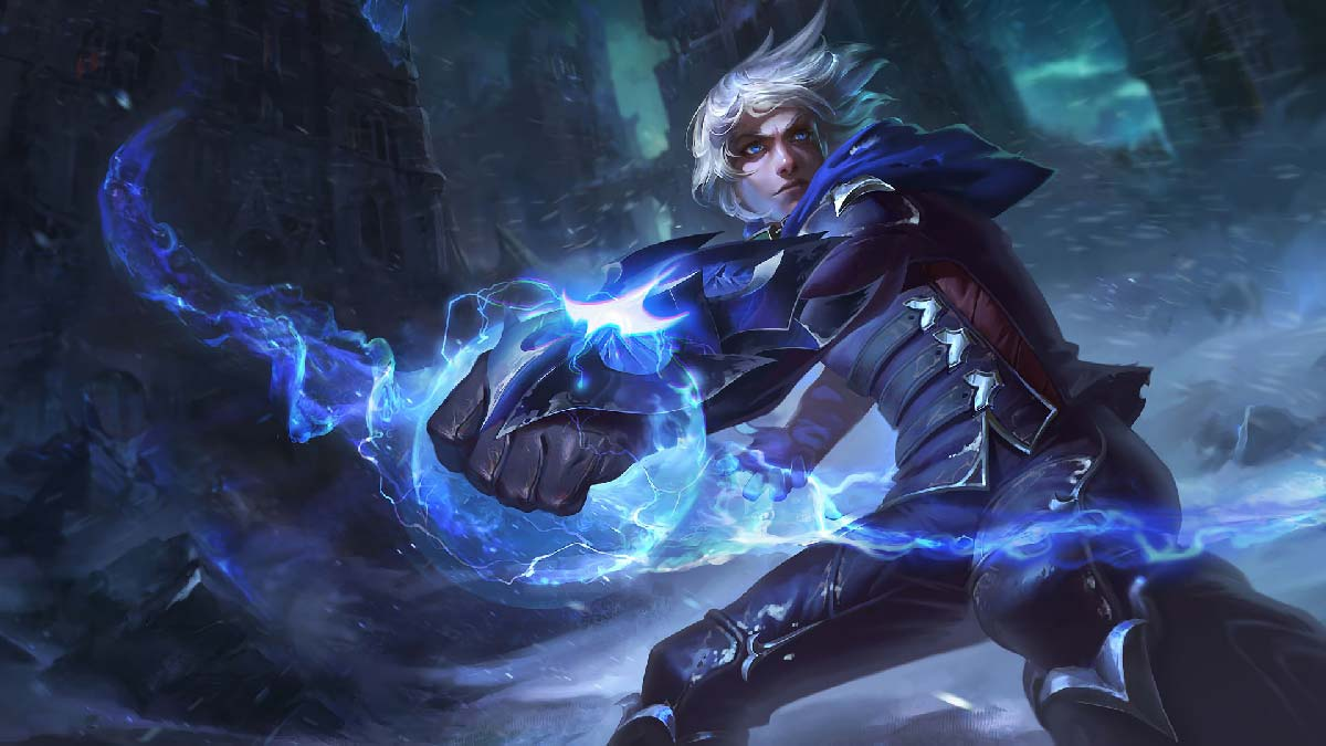 Frosted Ezreal Wallpaper LOL