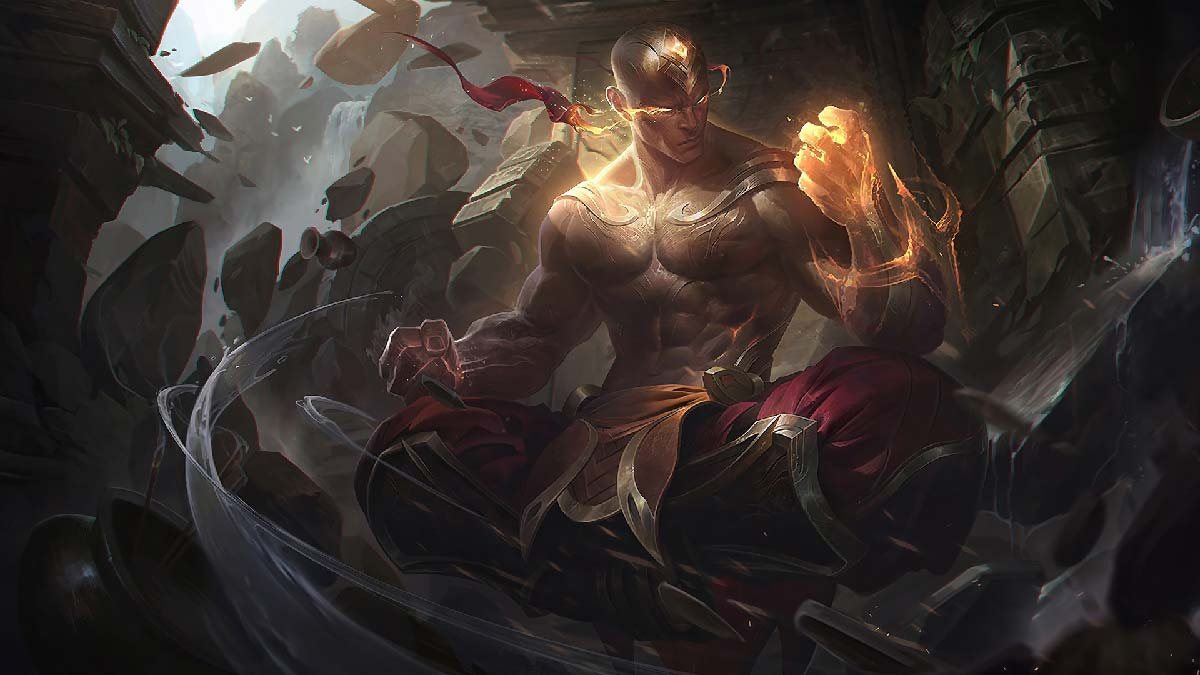 God Fist Lee Sin Wallpaper LOL