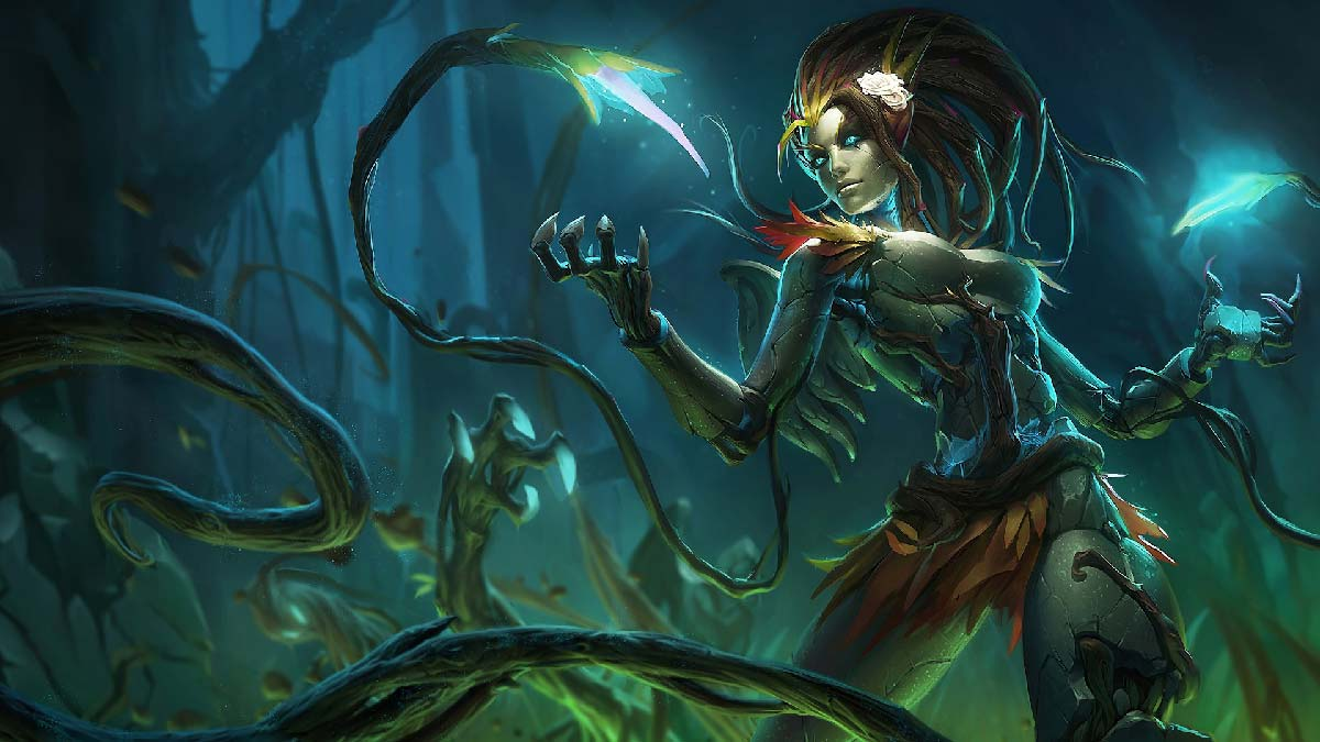 Haunted Zyra Wallpaper LOL